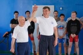 Ветерану классической борьбы Петру Крысову - 80 лет