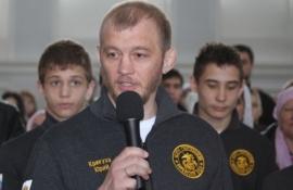 В Омске открылся Свято-Георгиевский борцовский клуб