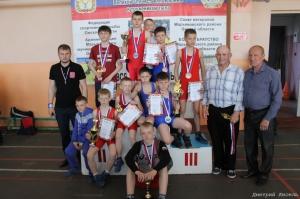 Первенство Марьяновского района памяти ветеранов ВОВ (13.05.2017)