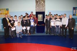 Областной турнир по греко-римской борьбе памяти Фарита Телетаева (10.12.2016, Омск)