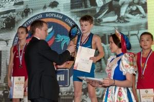 Первенство России по греко-римской борьбе памяти Ю.А.Крикухи (Омск, 2017)