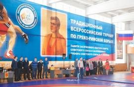 Всероссийские соревнования по греко-римской борьбе памяти В.Г.Оленика (2-4.02.2018, Новокузнецк)