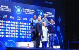 Алексей Чистяков завоевал бронзу чемпионата мира в Перми