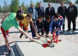 Юные борцы отметили День Победы