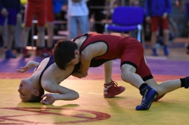 Омские борцы завоевали восемь медалей турнира на Кубок Бачинина