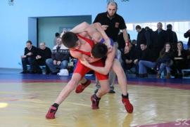 Первенство Омской области определило сильнейших борцов