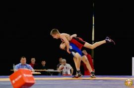 Первенство России по греко-римской борьбе среди юношей (2016, Омск)