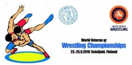 Чемпионат мира по греко-римской борьбе среди ветеранов (23-25.09.2016, Финляндия)