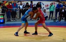Даян Нигматов завоевал серебро на спартакиаде учащихся России