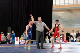 Ирлан Махмудов - серебряный призёр первенства России по греко-римской борьбе