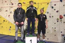 Александр Крикуха завоевал золотую медаль во Франции