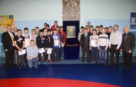 В Омске прошел областной турнир по греко-римской борьбе памяти Фарита Телетаева