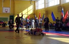 XV турнир по греко-римской борьбе памяти Стрельникова прошел в Оконешниково