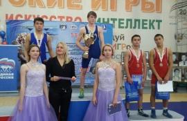 """Омские атлеты вернулись из """"Центра Державы"""" с наградами"""