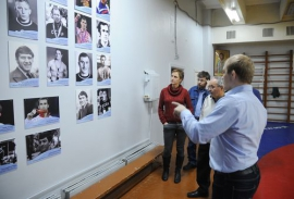 Встреча Юрия Крикухи с журналистами