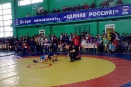 В Шербакуле во второй раз прошел борцовский турнир памяти Юрия Крикухи