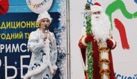 Дед Мороз отметил омских борцов в Тюмени