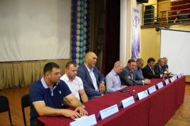 Круглый стол «Спорт - престиж нации» с участием Николая Валуева