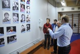 Встреча Ю.Ю. Крикухи с журналистами